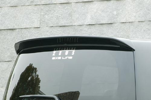 リアウイング / リアスポイラー【エクスクルージブ ゼウス】ステップワゴン 【 EXE LINE 】 リアウイング NH731P塗装済 | STEP WGN (RG1.2) 後期 2007/11 - 2009/9