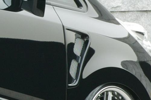 フェンダーダクト【エクスクルージブ ゼウス】ステップワゴン 【 EXE LINE 】 フェンダーダクト NH731P塗装済 | STEP WGN (RG1.2) 後期 2007/11 - 2009/9