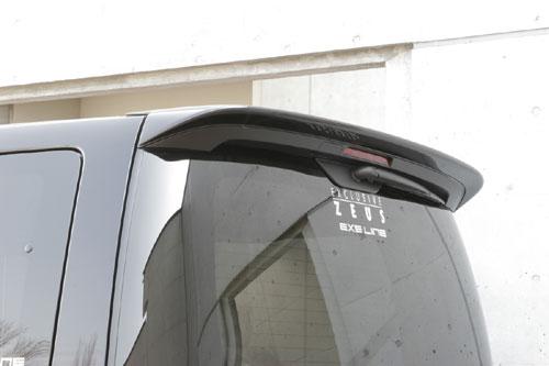 リアウイング / リアスポイラー【エクスクルージブ ゼウス】エルグランド 【 EXE LINE 】 リアウイング G30塗装済   ELGRAND (E51) 後期 2004/8 - 2010/7