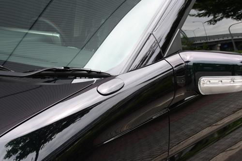 フェンダーガーニッシュ【エクスクルージブ ゼウス】エルグランド 【 GRACE LINE 】 ミラーカバー G30塗装済 | ELGRAND(E51) XL、X、VG、V 後期 2004/8 - 2010/7
