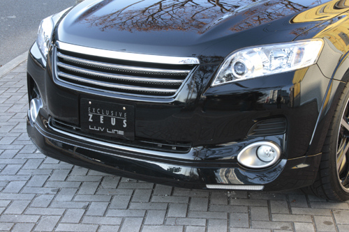 フロントハーフ【エクスクルージブ ゼウス】ヴァンガード 【 LUV LINE 】 フロントハーフスポイラー 070 塗装済 | VANGUARD350S(GSA3#) 前期 2007/8 - 2010/1