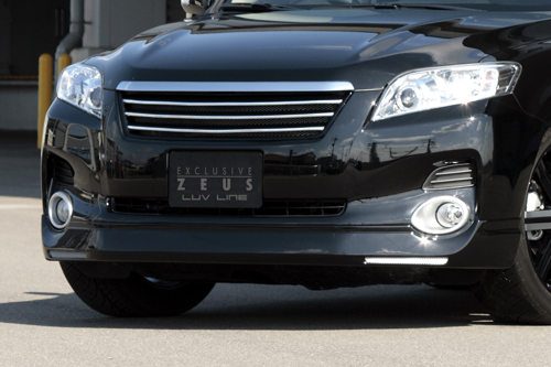 フロントハーフ【エクスクルージブ ゼウス】ヴァンガード 【 LUV LINE 】 フロントハーフスポイラー 202 塗装済 | VANGUARD 240S(ACA3#) 前期 2007/8 - 2010/1