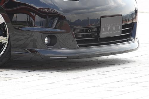 フロントハーフ【エクスクルージブ ゼウス】セレナ 【 GRACE LINE 】 フロントハーフスポイラー QX1塗装済 | SERENA (C25) 20S.20G 後期 2007/12 - 2010/10