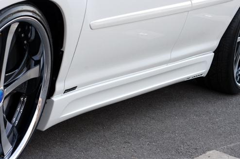 30 ハリアー | サイドステップ【エクスクルージブ ゼウス】ハリアー 30系 LUV-LINE Ver.2 Side Step