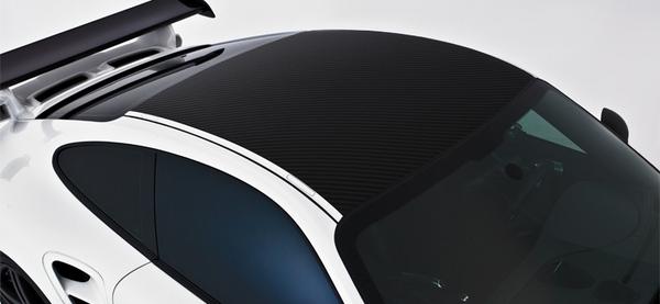 Porsche 911 997型   ルーフパネル【ヴォルシュテイナー】PORSCHE 997 V-GT Carbon Fiber Roof Panel カレラ用