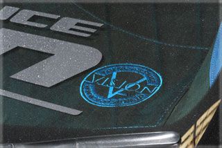 ダッシュボードマット【ブイビジョン】オデッセイRB1~4 オリジナルダッシュボードマット ブルー