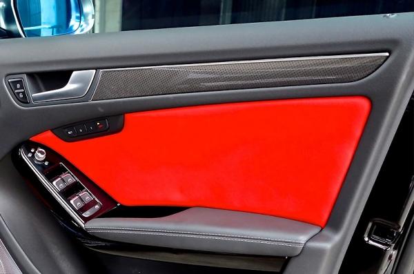 Audi A5 | インテリアパネル【バランスイット】Audi A5(8T) coupe/sportback カーボンインテリアキット 4ドアパネルのみ(シルバーカーボン)