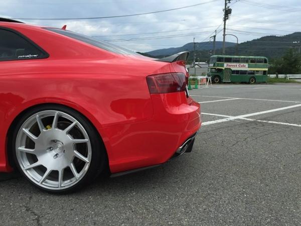 Audi A5 | リアマットガード / リアサイドスポイラー【バランスイット】AUDI RS5 Cope Rear Canard FRP