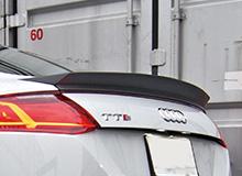 Audi TT 8S | トランクスポイラー / リアリップスポイラー【バランスイット】AUDI TTS/TT S-line 2015- Trunk spoiler Carbon