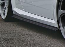 Audi TT 8S | サイドステップ【バランスイット】AUDI TTS/TT S-line 2015- Side skirts Carbon