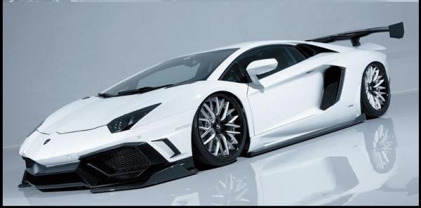 Aventador アヴェンタドール | フロントリップ【エイムゲイン】AVENTADOR FRONT SPLTER FRP