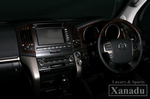 【アベスト】[XANADU]ランドクルーザー200系 純正交換ウッド アウターダクト