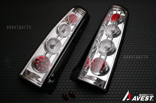 【アベスト】[ワゴンR]MH21/22 前期用 LEDテールランプ クリア[キャンセラ内蔵]