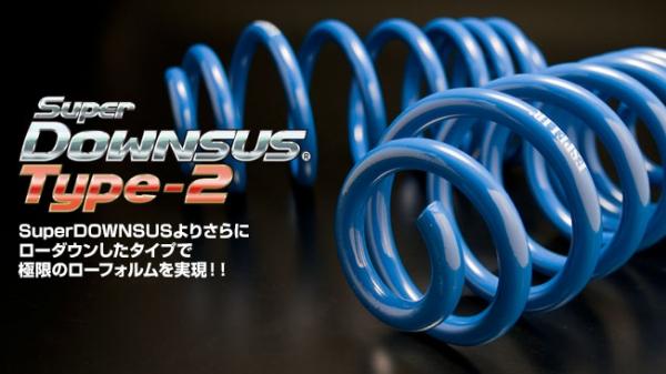 【エスペリア】ウィッシュ スーパーダウンサス タイプ2 ZNE10G 1ZZ-FE H17/9-21/3 2WD 1.8L X フロント