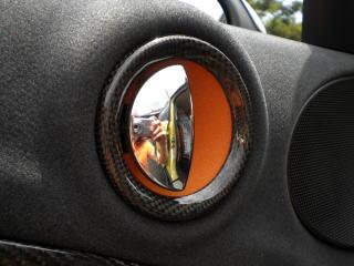 MINI Crossover/Countryman R60 | 内装パーツ / その他【ボンレーシング】BMW MINI R60 クロスオーバー ドアオプナーカバー カーボン綾織