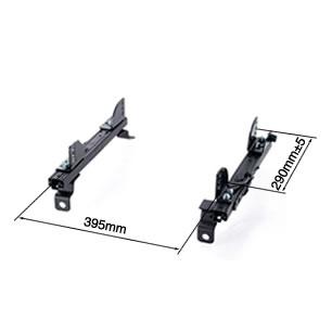 (右側用) - シートレール インテグラ フルバケ用【ブリッド】【BRIDE 正規品】スーパーシートレール【FGタイプ】DC#/DB#