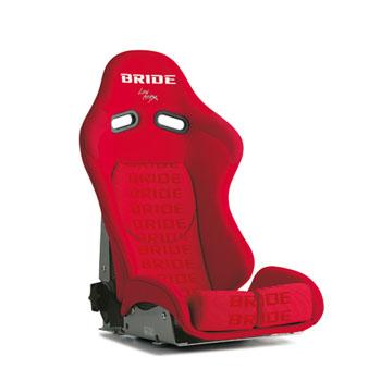 【ブリッド】【BRIDE 正規品】リクライニング フルバケットシート STRADIAII【レッドロゴ】スーパーアラミド製ブラックシェル