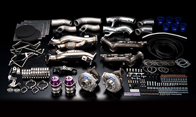 【エッチケーエス】ウエストゲートシリーズターボレスKIT 14020-AN007 ニッサン GT-R 07/12- R35 VR38DETT