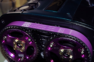 【エッチケーエス】強化タイミングベルト ファインチューンタイミングベルト 24999-AT004 トヨタ クレスタ 96/09-00/10 JZX10# 2JZ-GE