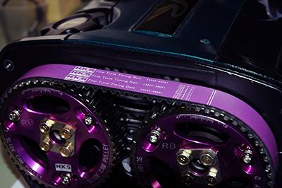 【エッチケーエス】強化タイミングベルト ファインチューンタイミングベルト 24999-AT003 トヨタ クレスタ 90/08-92/10 JZX8# 1JZ-G(T)E