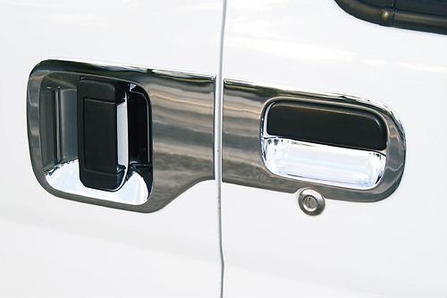 【ハロースペシャル】ハイゼットカーゴ S320V/S330V/S321V/S331V メッキドアハンドル廻りカバー