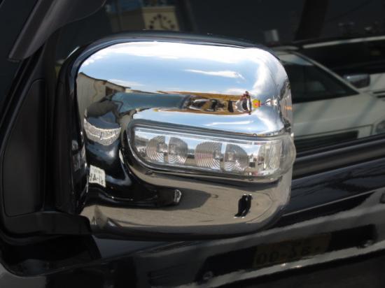 【ハロースペシャル】エブリィ スクラム DA62W ワゴン専用 メッキウインカーミラーカバー Bタイプ