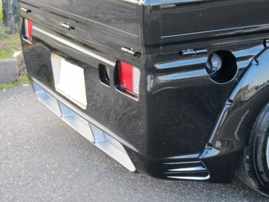 【ハロースペシャル】ハイゼットトラックジャンボ 200系 前期 ビリキーノスペシャル リアバンパースポイラー