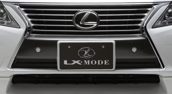 フロントハーフ【エルエックスモード】LEXUS RX450h/350/270 10系 後期 Aero Bumper Model LXカーボンフロントバンパーガーニッシュ Ver.エアロバンパー 【GYL16/15/10W・GGL15/10W・AGL10W】