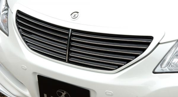 フロントグリル【エルエックスモード】クラウンロイヤル 200系 前期 LXフロントグリル 未塗装 【GRS200/201/202/203/204】