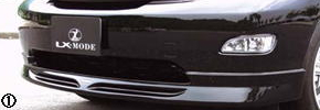 30 ハリアー | フロントハーフ【エルエックスモード】HARRIER ALL フロントスポイラー 未塗装