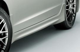 ZE2/3 インサイト | サイドステップ【ムゲン】インサイト ZE2 後期 / ZE3 Side Spoiler プレミアムホワイトパール 塗装済み