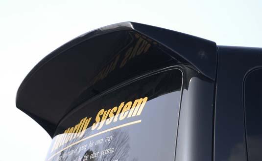 H81 ekワゴン | リアウイング / リアスポイラー【バタフライシステム】ek WAGON H81W 前期 リアウィング