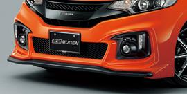 フィット ハイブリッド GP5/GP6 | フロントバンパー【ムゲン】フィット ハイブリッド GP5 フロントエアロバンパー 未塗装