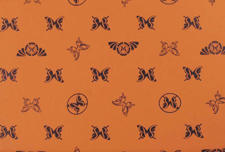 アイシス | ダッシュボードマット【バタフライシステム】アイシス ANM/ZNM1# (H16.10-) モノグラムダッシュマット カラー:モノグラムオレンジxブラウン