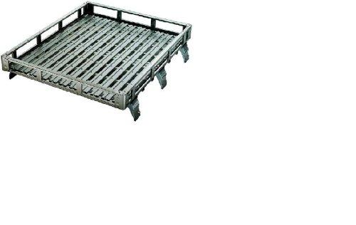 【アイバワークス】ルーフラック NOSELDA-1 ニッサン キャラバン/ホーミー 標準ルーフ E25 ミッドロー 1400サイズ 3.0m