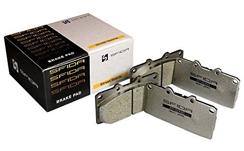 【エーピーピー】ブレーキパッド 【 SFIDA AP-8000 】 スバル インプレッサ ( リア用 ) AP8000-609R