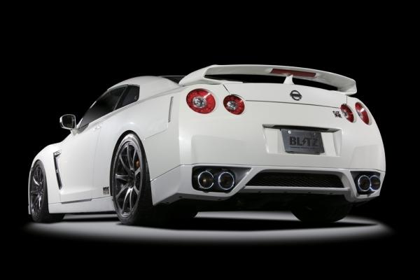 【ブリッツ】NUR-CTi Quad R35 VR38DETT GT-R・ NISSAN GT-R 07/12-09/12 R35 VR38DETT