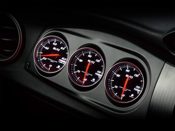 【ブリッツ】RACING METER PANEL φ60 86/BRZ SV SUBARU BRZ 12/03- ZC6 FA20