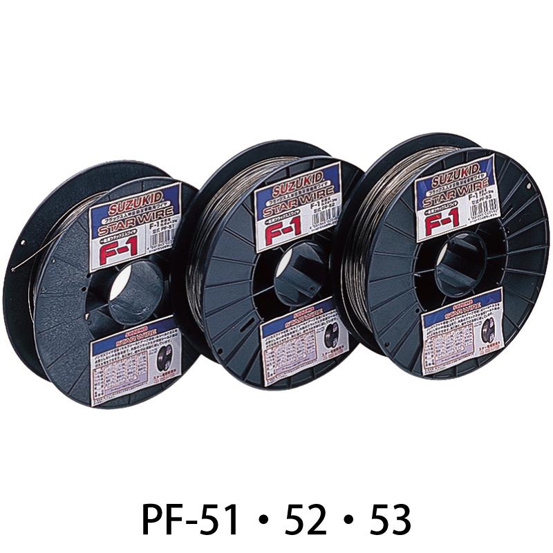 ノンガスワイヤ軟鋼用0.8ΦX3kg PF-51 SUZUKID