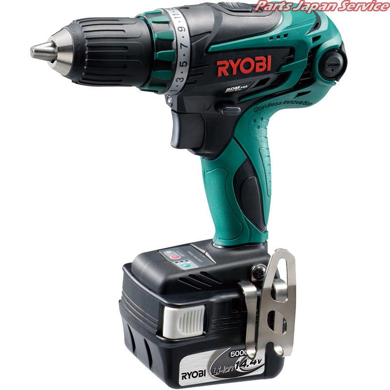 RYOBI BDM-143L5充電式ドライバードリル BDM-143L5 RYOBI, 中巨摩郡:92fce0c1 --- vidaperpetua.com.br