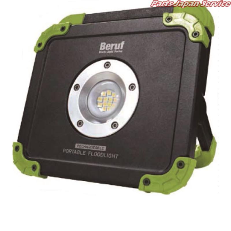 充電式ポータブル投光器 BTK‐001R 87225 スエカゲツール