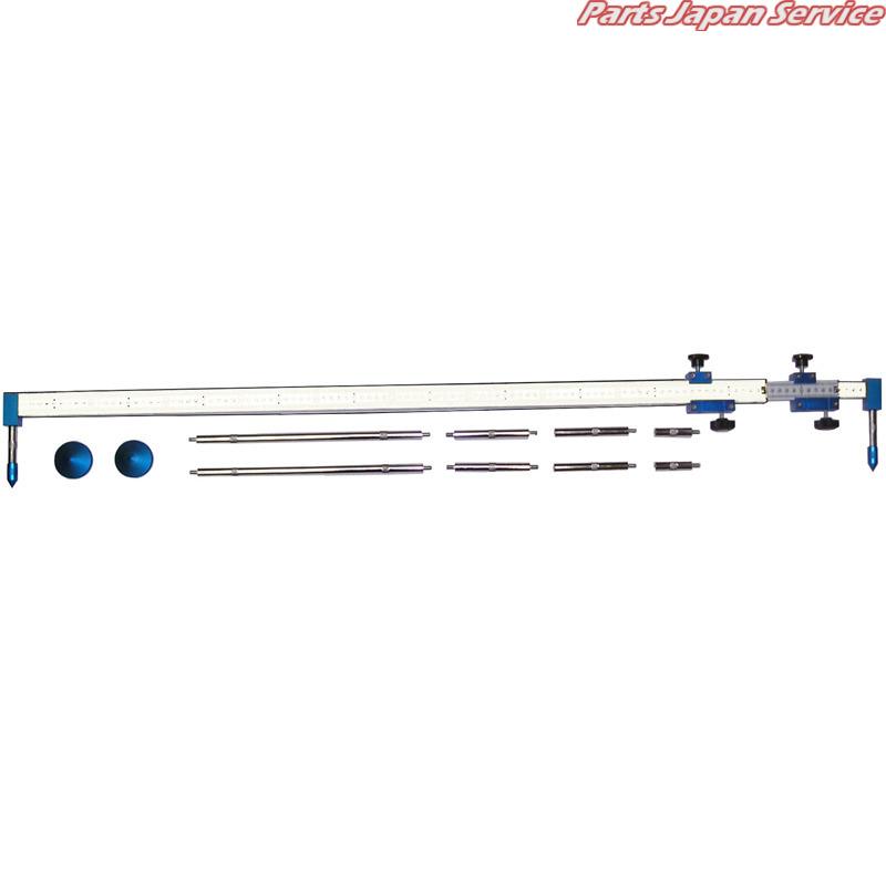 公式 トラッキングゲージ測定バー固定式 ヤマト自動車:パーツジャパンサービス店 KM-3000N-DIY・工具