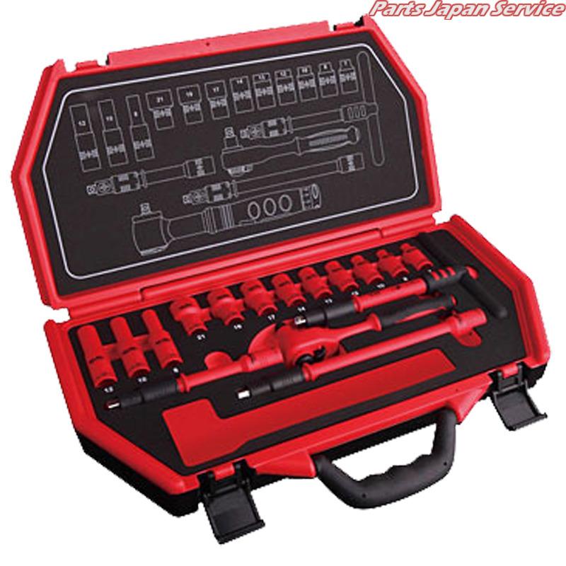 絶縁工具セット P-E316B スエカゲツール