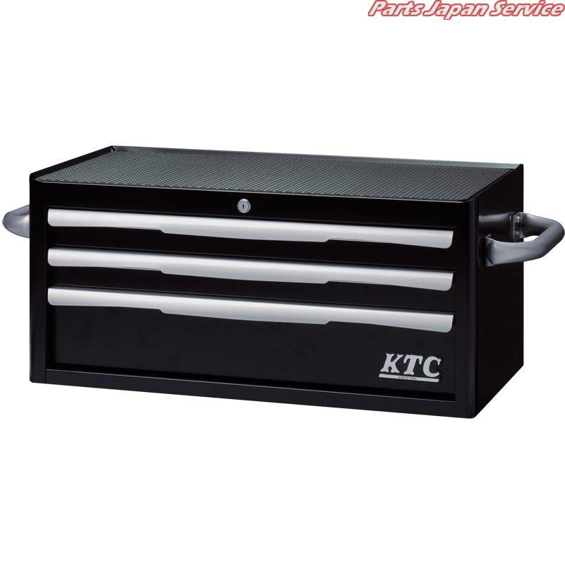 フラットトップチェスト3段3引出ブラック EKR-2003BK KTC