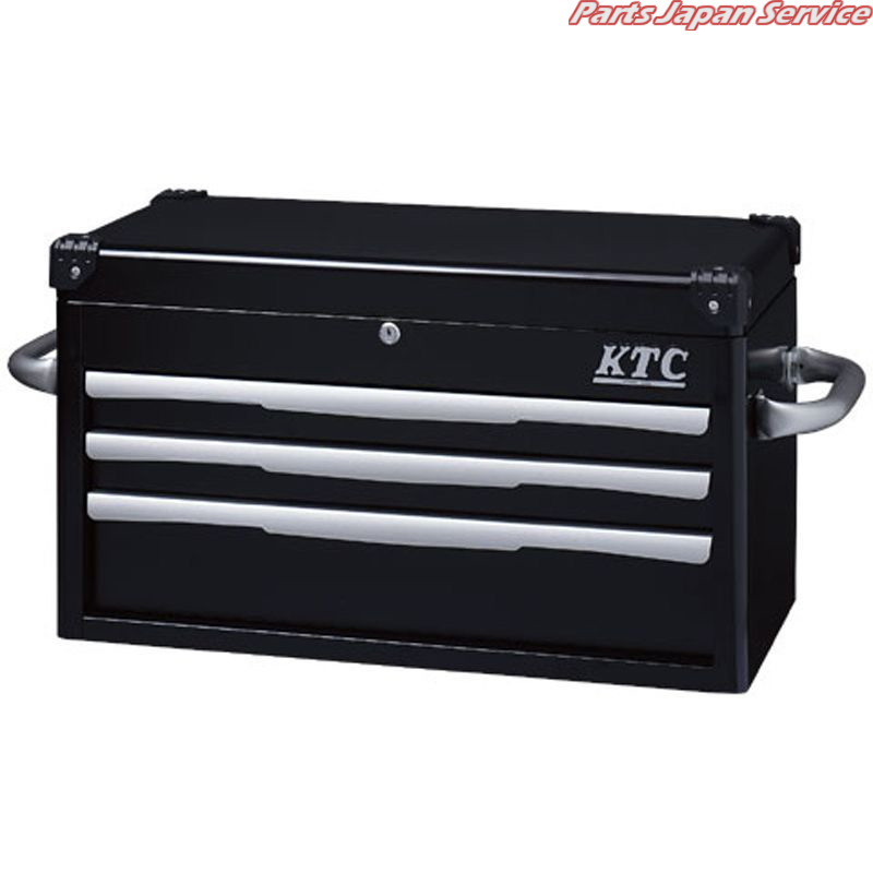 トップチェスト(3段3引出し) EKR-1003BK KTC