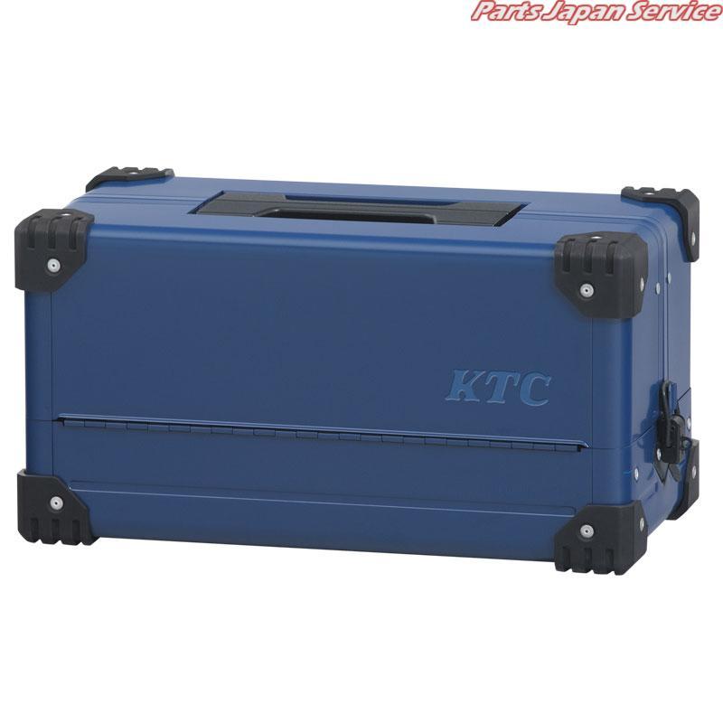 両開きメタルケース(シーベッドブルー)(特別色) EK-10ASBB 京都機械工具 KTC