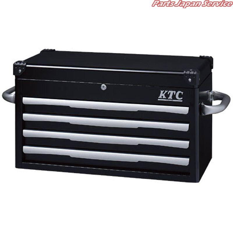 トップチェスト(4段4引出し) EKR-1004BK 京都機械工具 KTC