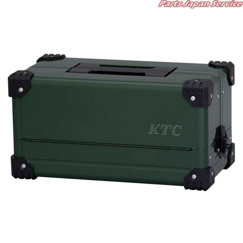 両開きメタルケース(ディープグリーン)(特別色) EK-10ADGR 京都機械工具 KTC