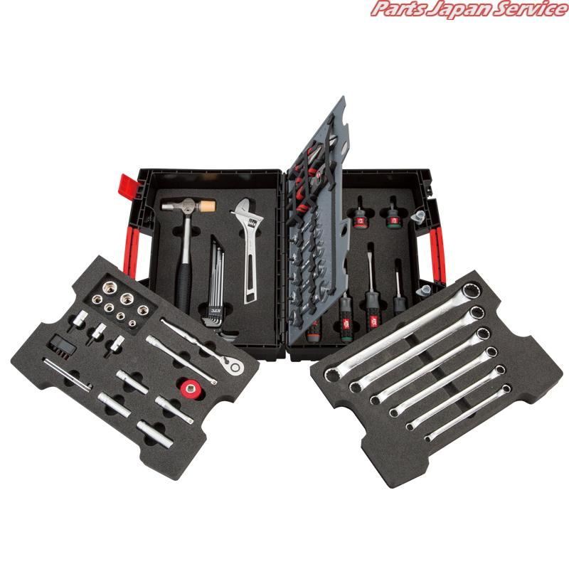 9.5軽量樹脂ケースセット SK35620PH 京都機械工具 KTC
