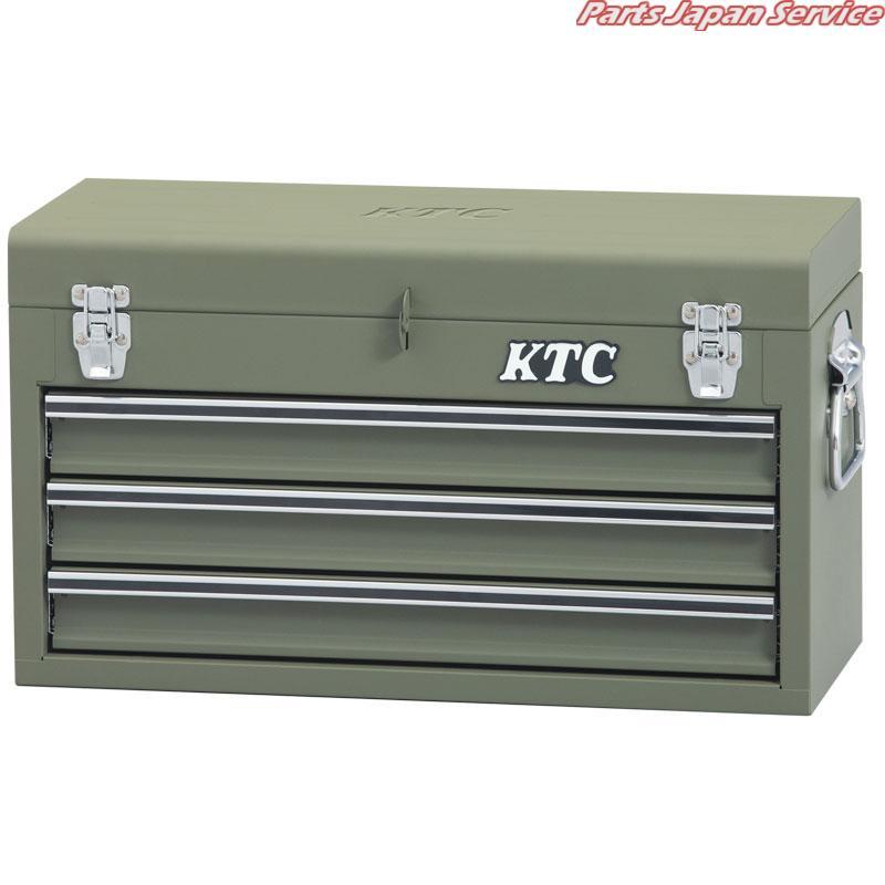 チェスト(マットグリーン)(特別色) SKX0213MGR 京都機械工具 KTC